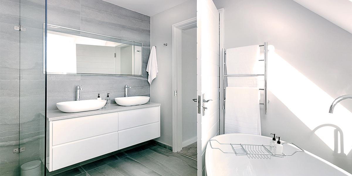 Koupelna - klidný start do nového dne