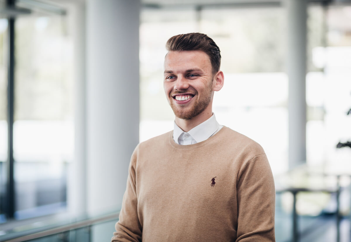 Steven-Henrik Maier, Marktmanager Frankreich beim Befestigungsspezialisten fischer SystemTec.