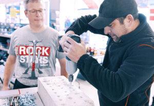 ROCKSTARS ON TOUR: fischer Betonschrauben live erleben