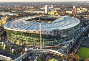 Das neue Tottenham Stadium: fischer Produkte und Service für den Bau der Superlative