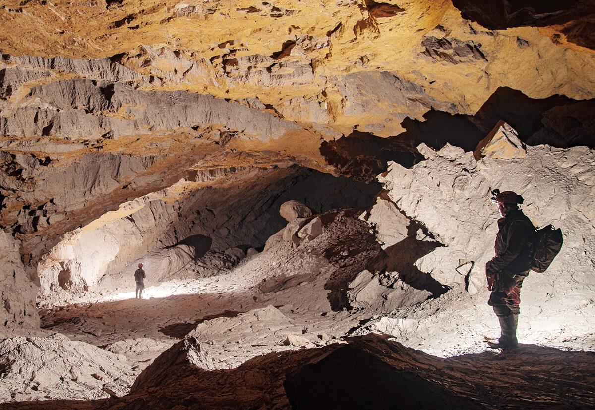 Unter der Erde: Anfang September 2018 erfolgte der Durchbruch für die Höhlenforscher.
