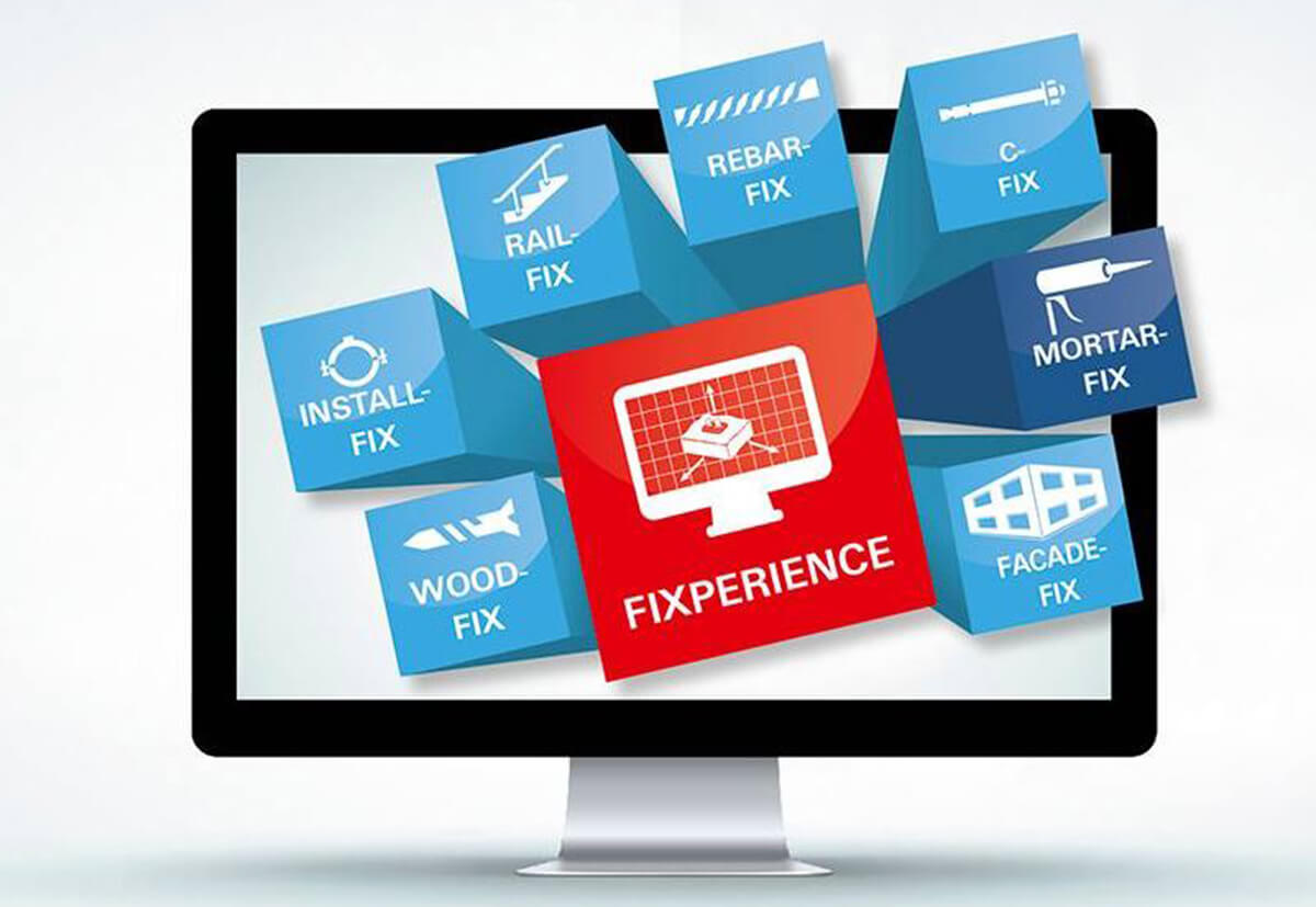 Die Software fischer FIXPERIENCE besteht aus sieben unterschiedlichen Modulen, mit denen sich komplexe Projekte weltweit berechnen lassen.