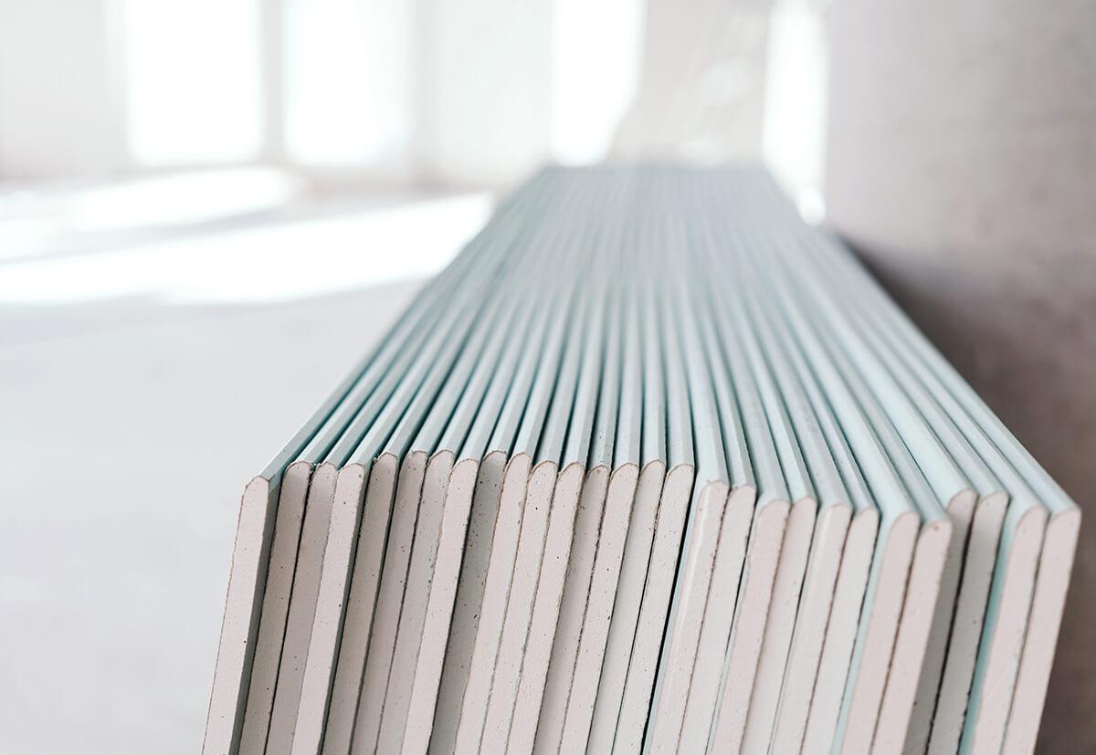 Die Tragfähigkeit von Gipskartonplatten ist beschränkt