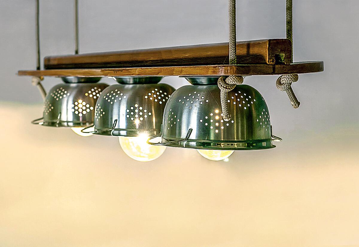 Eigen kreierte Leuchten können jeden Raum zum Hingucker machen.