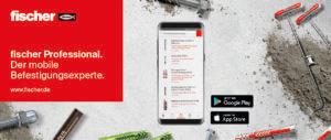 fischer Professional App – ein Produkt des Kundendialogs