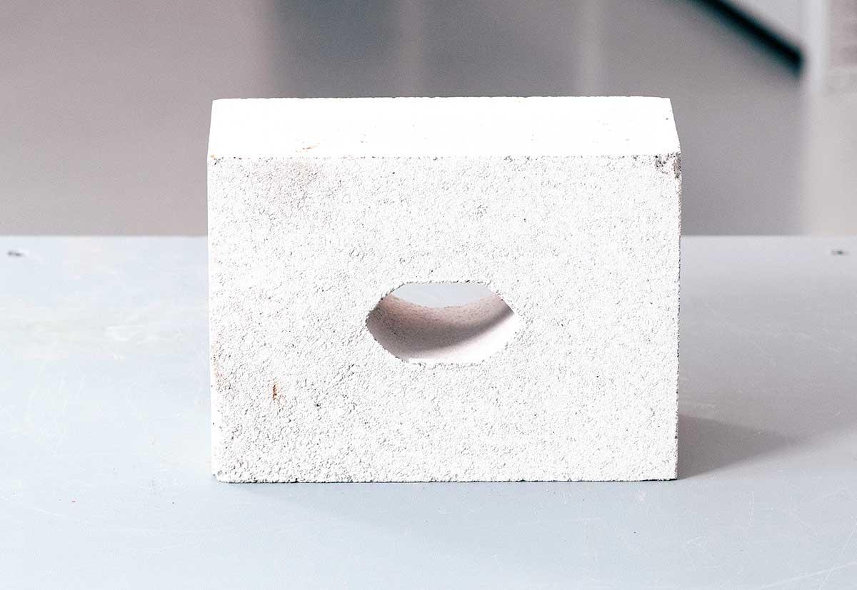 Mauerwerkssteine können sich deutlich unterscheiden.