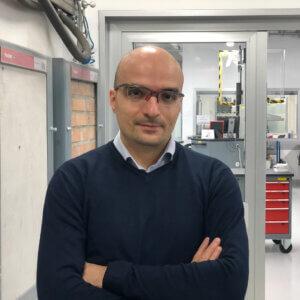 Michele Martini, Forschungs- und Entwicklungsleiter bei fischer Italia.