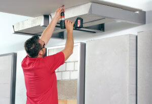 Safe installations in plasterboard