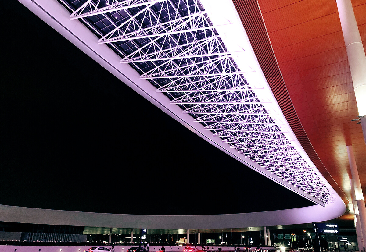 The steel construction which was secured with the help of the resin capsule RSB by fischer.