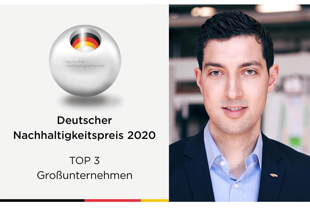 Christian Ziegler, Sustainability Manager at fischer.