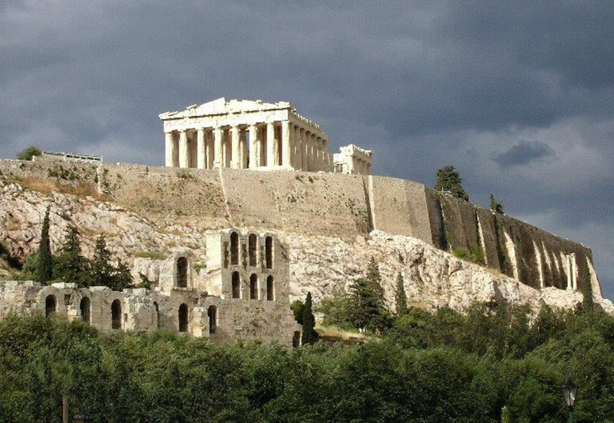 The Acropolis of Athens is one of the most famous ancient archaeological sites in the world.