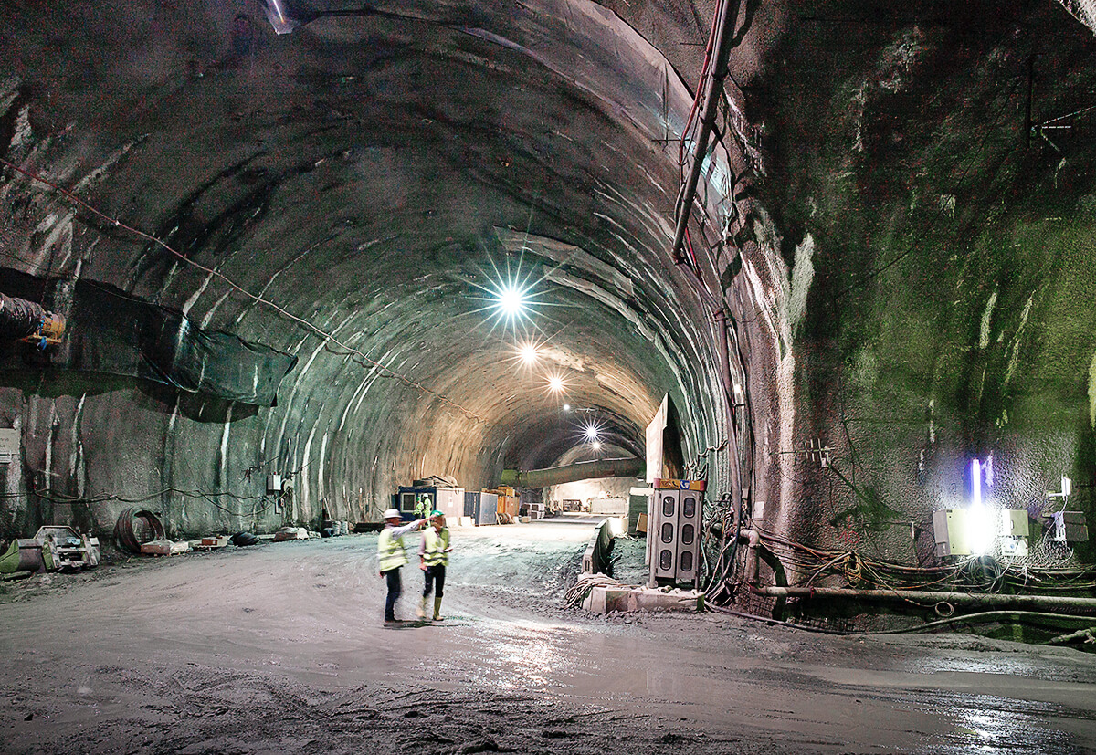 The Brenner Base Tunnel is setting a new world record. Including the existing Innsbruck bypass, it will be the world's longest tunnel.